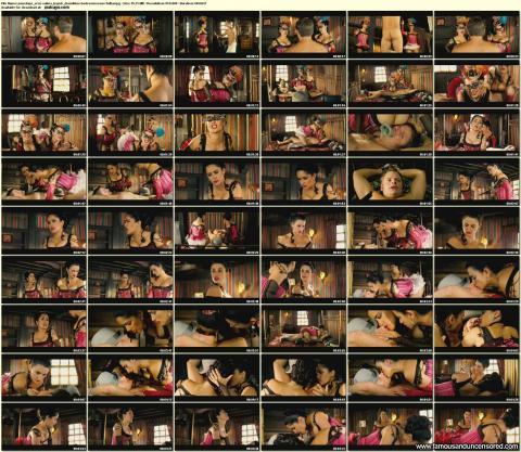 Salma Hayek Bandidas Fashion Hooker Kissing Costumes Bar Ass