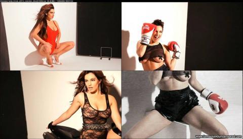Kelly Brook Calendar Videos See Through Bar Stunning Actress