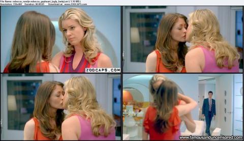 Rebecca Romijn Ugly Betty Gay Sensual Lesbian Posing Hot Hd