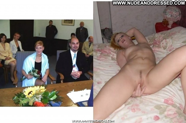 Several Amateurs Nude Amateur Softcore Bride Dressed And Undressed