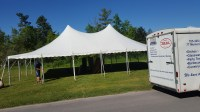 30x45 Pole Tent  Events