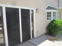 Exterior French Doors With Screens