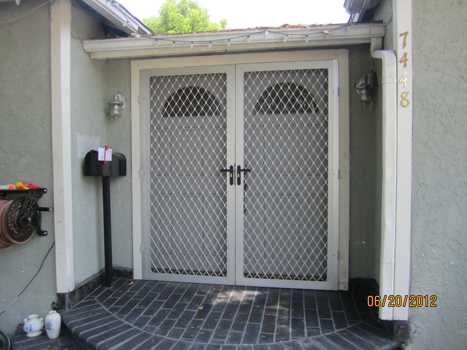 home security french doors