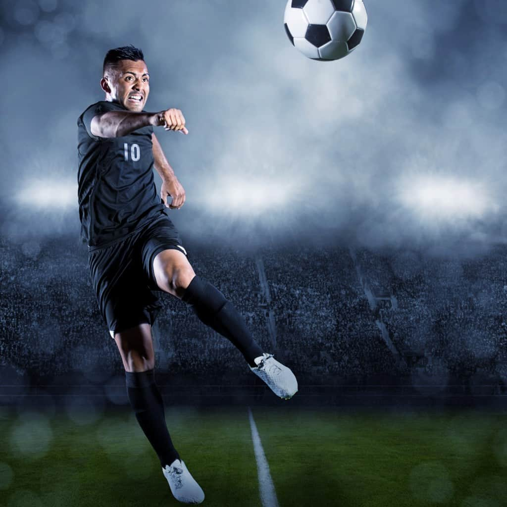 How To Volley A Soccer Ball