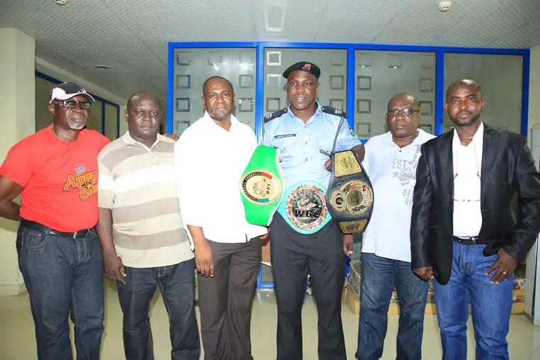 World Boxing Champion Durodola Visits Complete Sports