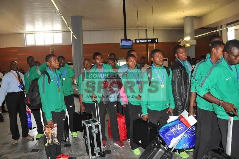 Sokari Backs Standout Golden Eaglets For U-23 Eagles
