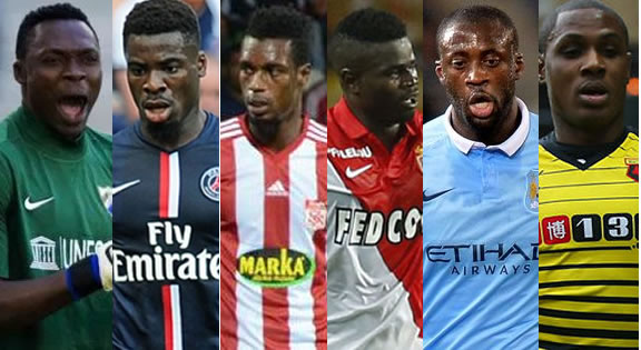 2015 AFRICAN TEAM OF THE YEAR