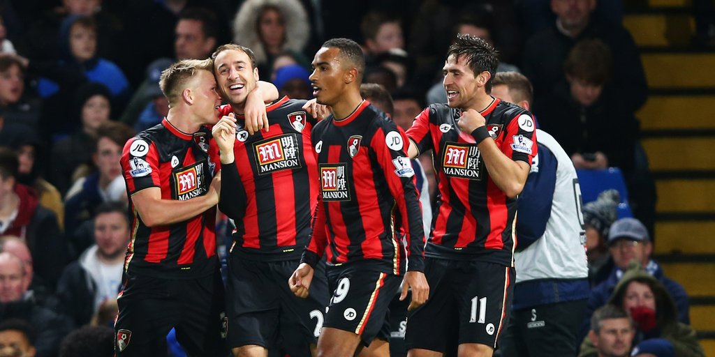 Bournemouth Shock Chelsea, Hand Champions Eighth League Defeat
