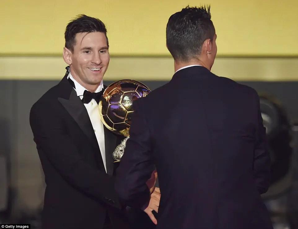 Ballon D'Or: Oliseh Votes Messi, Snubs Ronaldo; Musa Votes Messi
