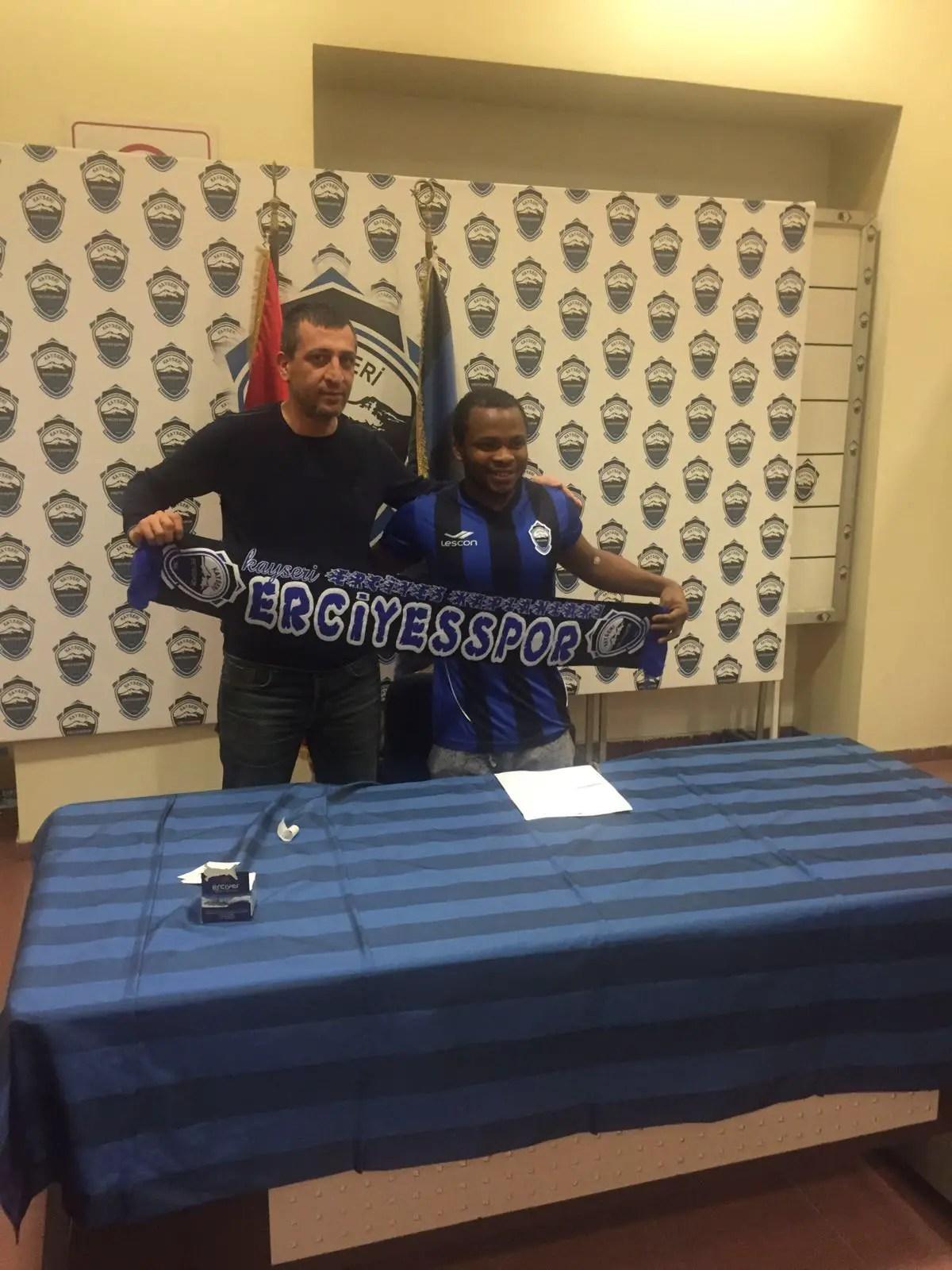 Nigerian Ibrahim Joins Second Division Turkish Club