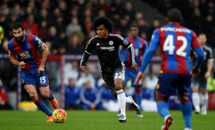 Mikel Shines As Chelsea Spank Palace For Hiddink's First Win