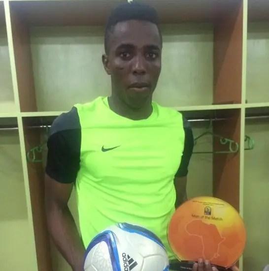 Chisom Chikatara Named MVP Of Nigeria Vs Niger Clash