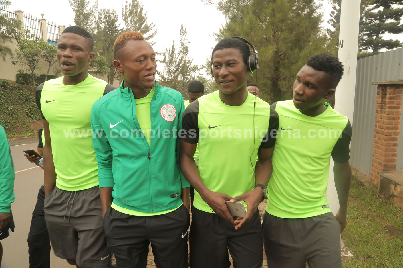 Home Eagles Land In Ruvabu, Vow To Beat Guinea