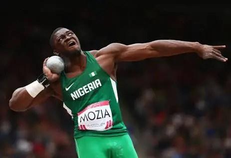 Mozia Sets New Nigerian Shot Put Record, Tops World List