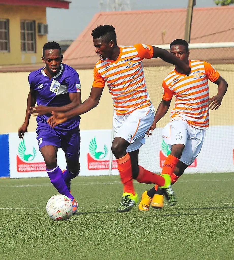 Ifeanyi Ubah Thrash 3SC As Abia Warriors, Pillars Draw; MFM Shock Sunshine