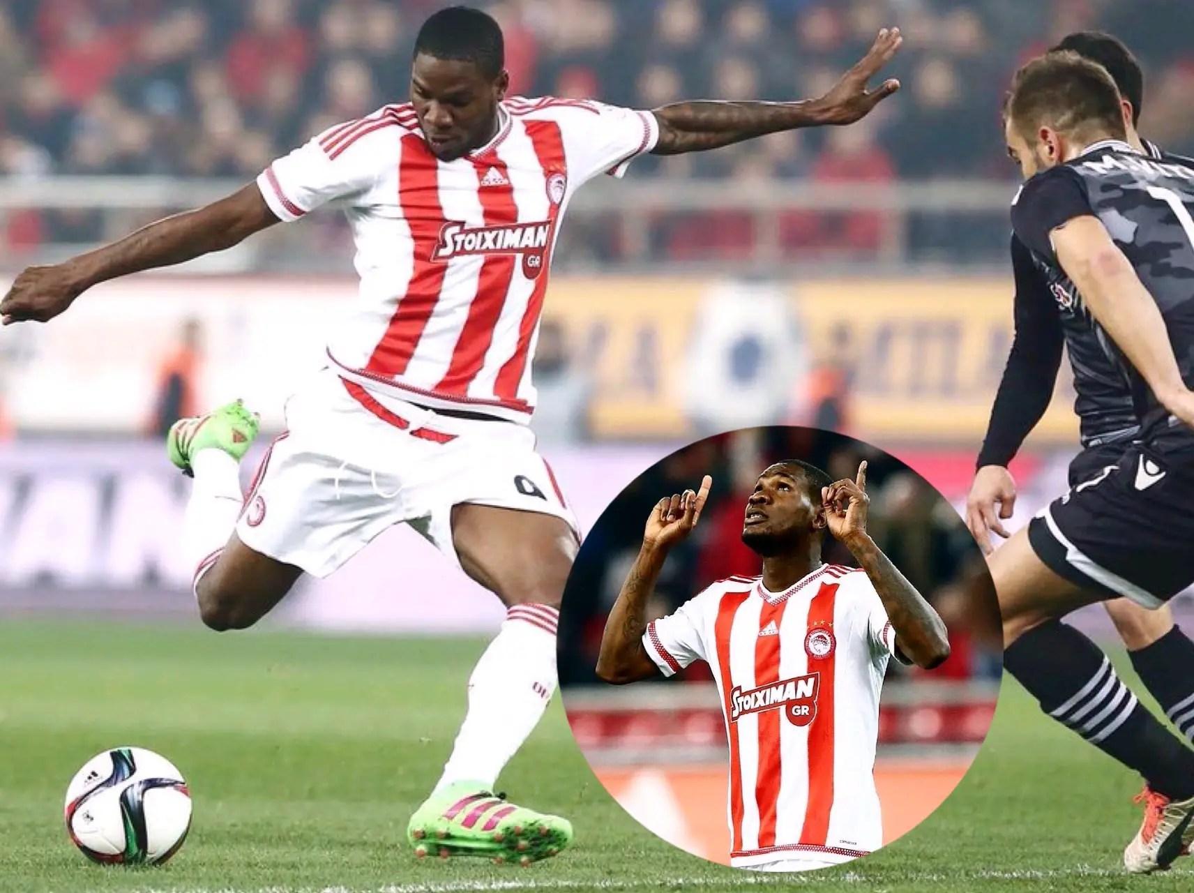 Ideye Scores In Olympiakos Win; Ikeme, Onazi, Simon, Balogun In Action