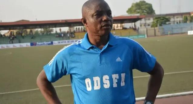 Sunshine Sack Head Coach Unanuel, Technical Director Abiodun
