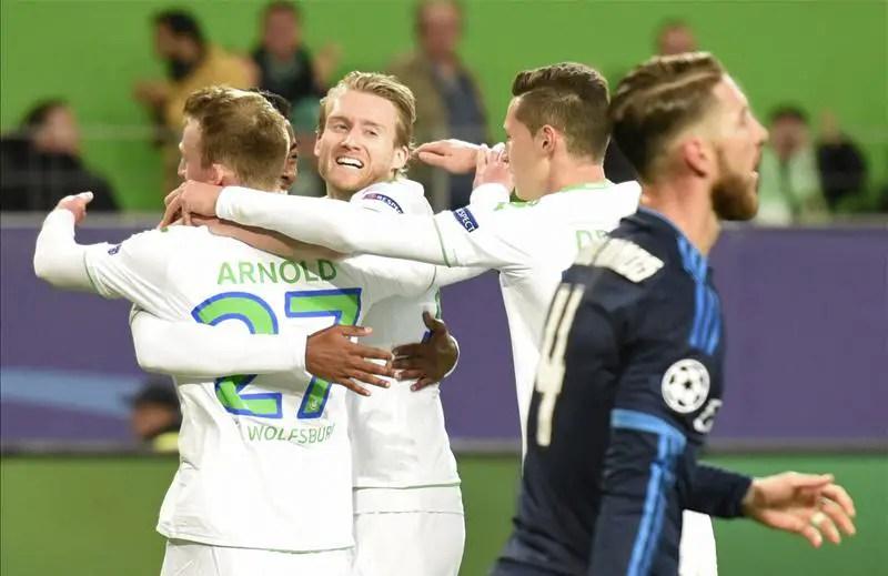Wolfsburg Shock Real Madrid, City Hold PSG Away