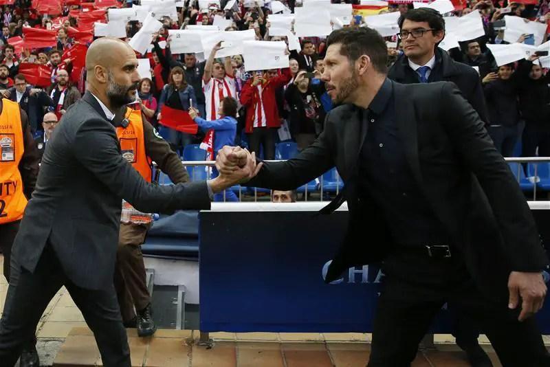 "Guardiola Blames ""Slow Play"" For Bayern Defeat Vs Atletico"