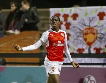 Oshoala Comes Close As Arsenal Lose To Liverpool