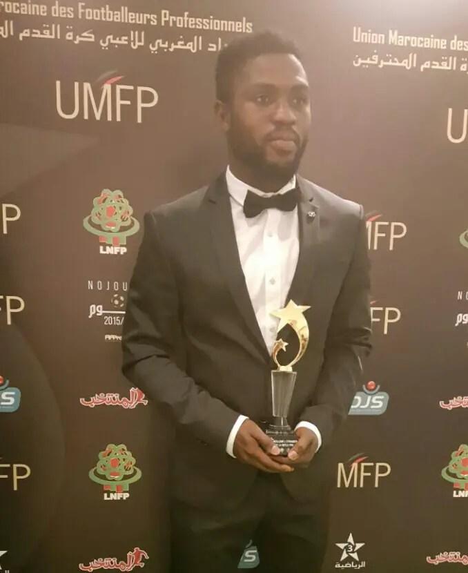 Babatunde Dedicates Moroccan League MVP Award To Late Keshi