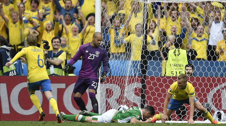 Euro 2016: Sweden Rally Back To Hold Ireland