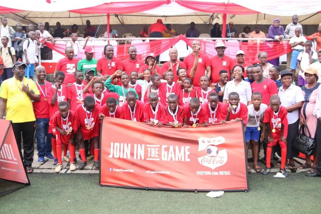 2016 Copa Coca-Cola: Rockford Defeats Jibowu7-0 in Lagos Grassroots Finals