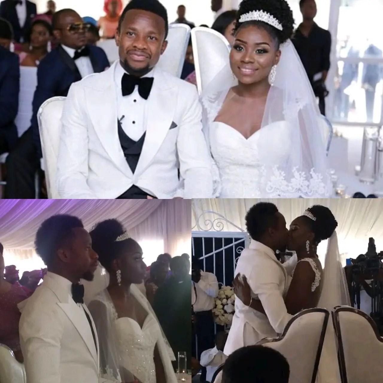 Lagos Agog As Onazi Weds Longtime Fiancée, Sandra