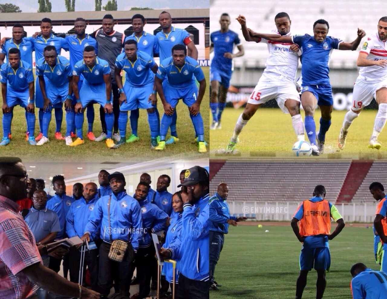 Infighting Threatens Enyimba's NPFL, CCL Title Bids