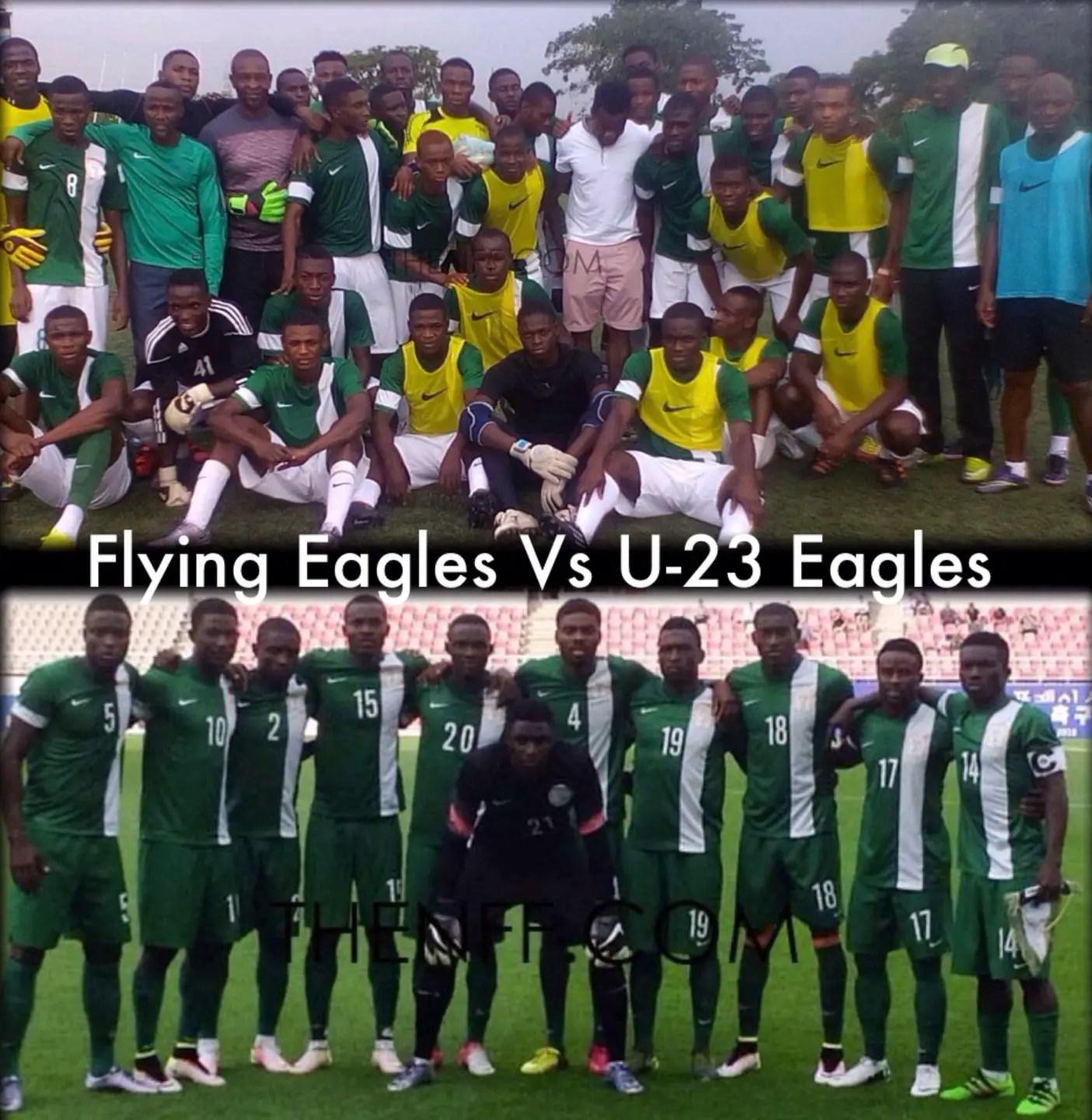 Flying Eagles, U-23 Eagles Clash In Abuja Saturday