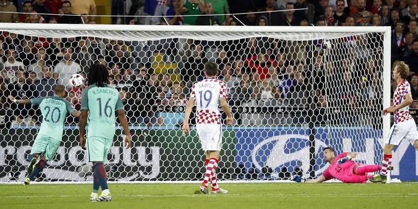 Portugal Seal Q/Final Spot With Quaresma's Late Goal Vs Croatia