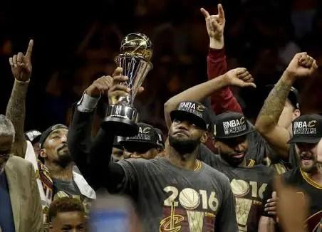 KING JAMES: LeBron Leads Cavs To Historic NBA Title