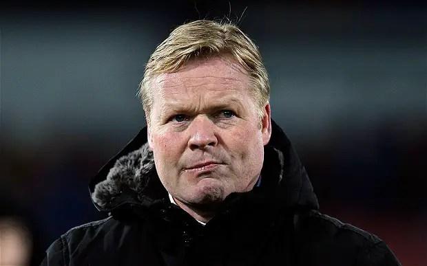 Koeman Dismisses Barca Link, Coy On Rooney Everton Return
