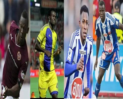 Oduamadi,Taiwo, Oshaniwa, Igiebor know Europa League Opponents