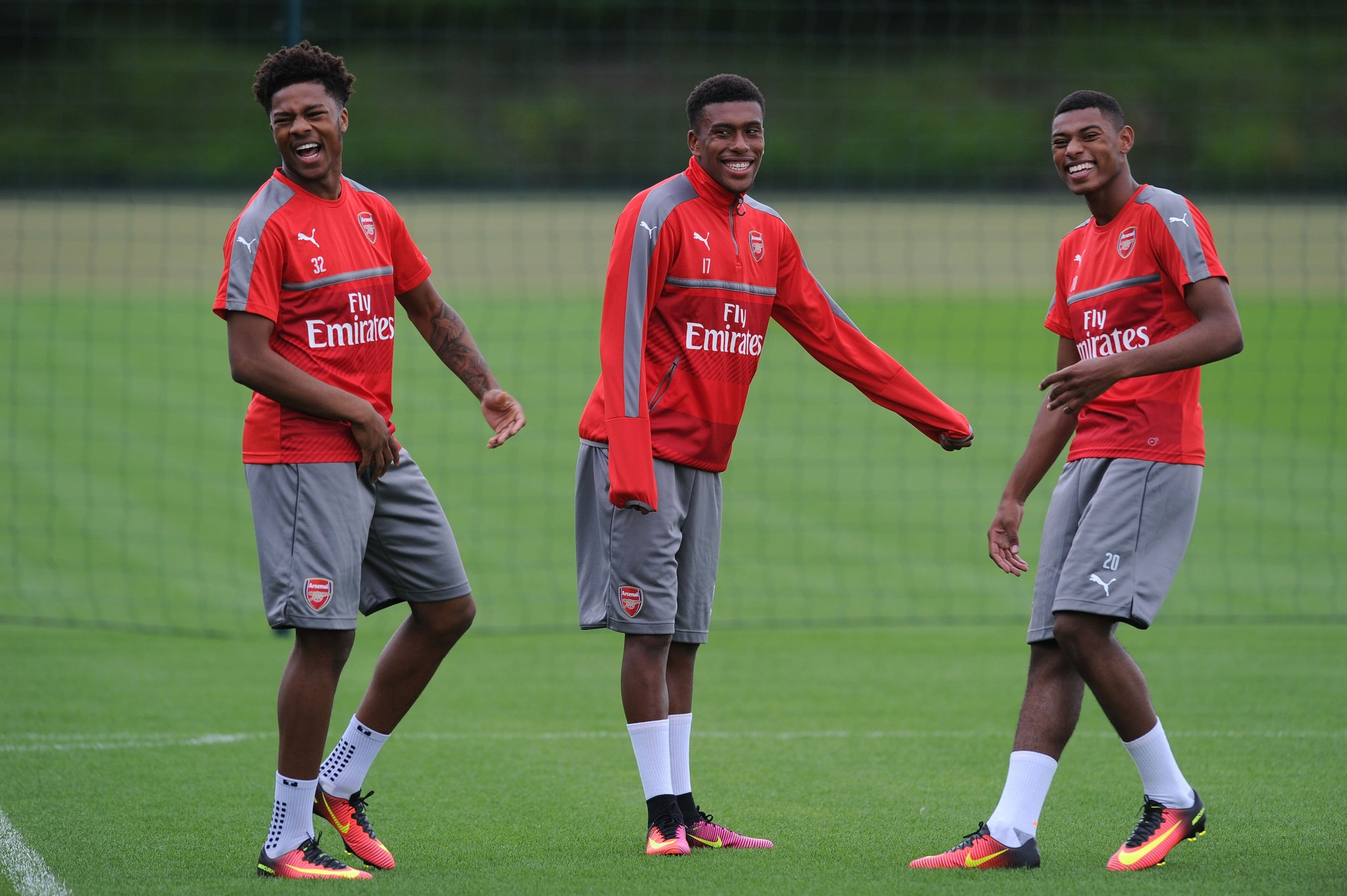 Iwobi, Akpom, Sanogo Rejoin Arsenal For Pre-Season