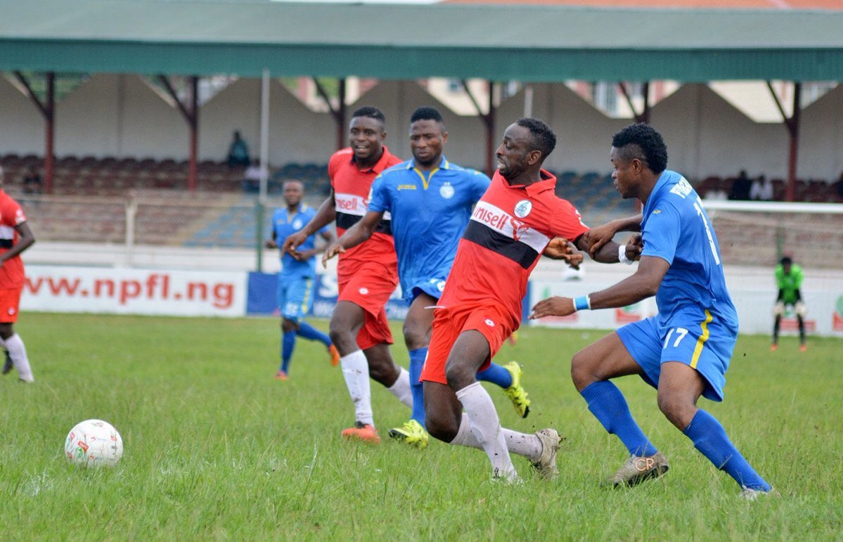 Federation Cup: Enyimba Vs Rivers, Wolves Vs IfeanyiUbah Suspended, Abandoned; Crown, Nasarawa Through