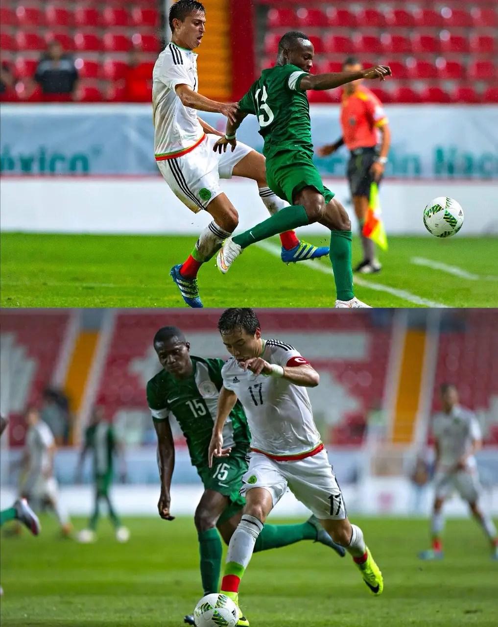 Mexico U-23s Pip U-23 Eagles In Friendly