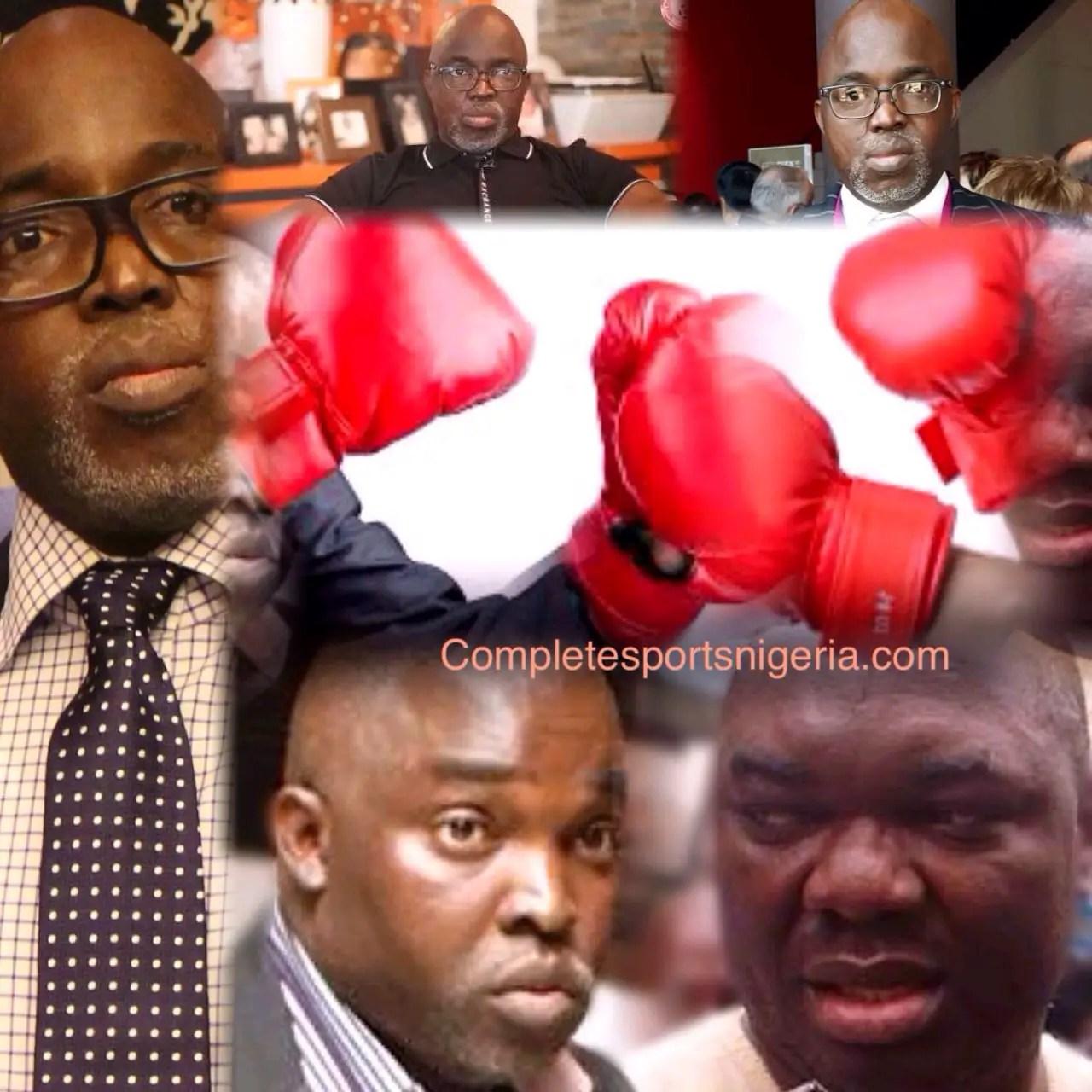 Pinnick To Giwa: I'm A Warri Boy, We Fight To The End