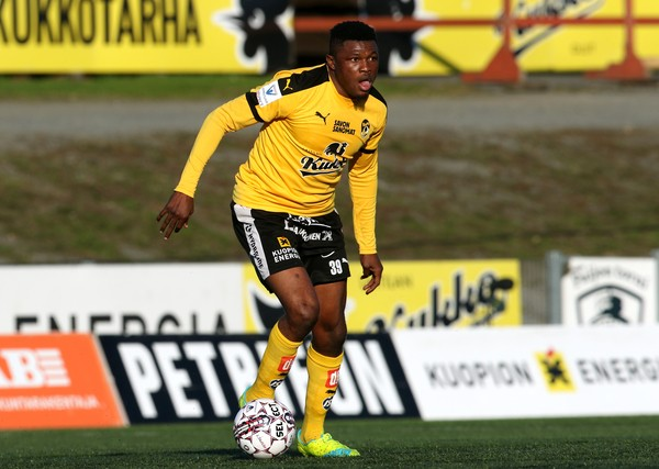 Salami Scores 11th Goal in Finland, Oduamadi Loses With HJK