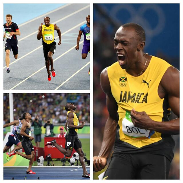Bolt Wins Historic 200m Gold, Ends Olympic Journey With Relays