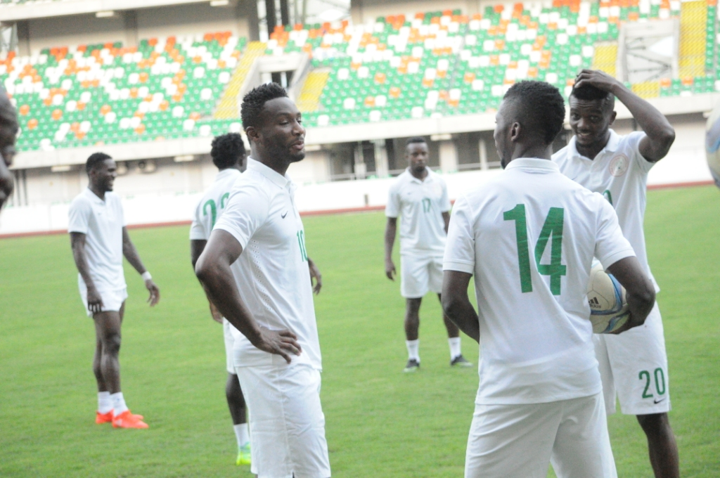 Mikel, Moses, Musa, Iheanacho Land In Uyo For Tanzania Clash