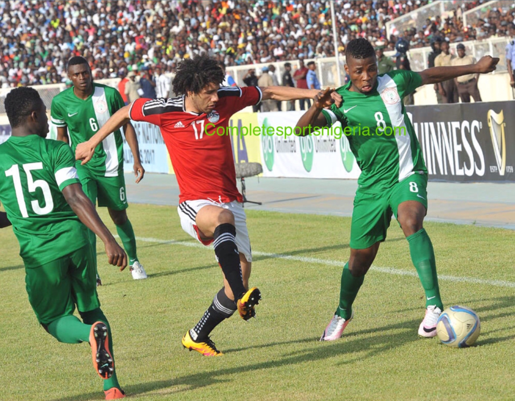 CAF Appoint Algerian Refs For Nigeria, Tanzania Clash