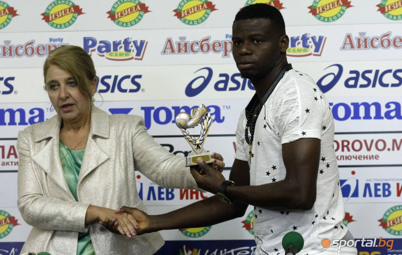 Adeniji Voted Bulgarian League Player Of The Month