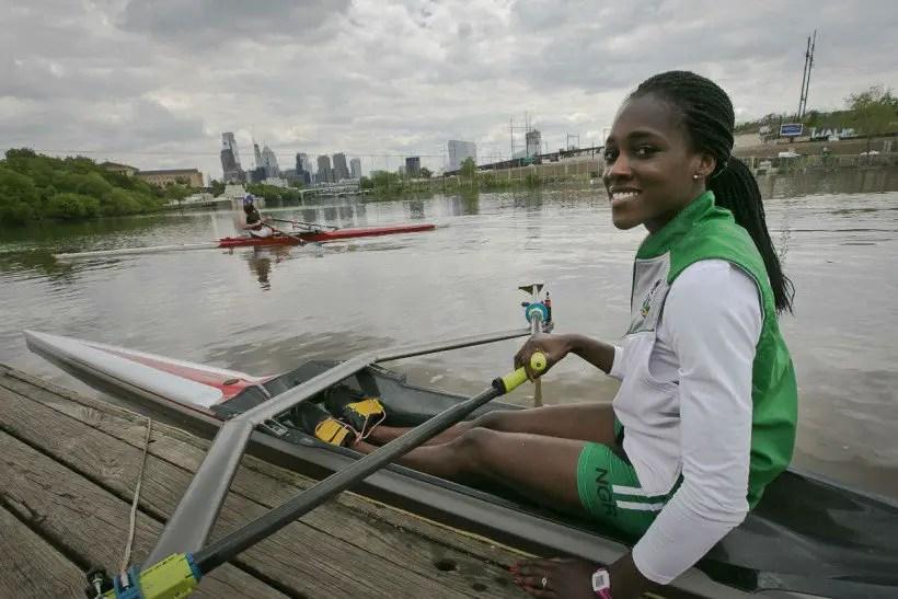 Nigeria's Ukogu Qualifies For Rio 2016 Rowing Semi-Finals