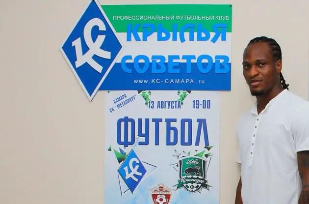 Russian Club Sovetov Sign Mbakogu On Loan