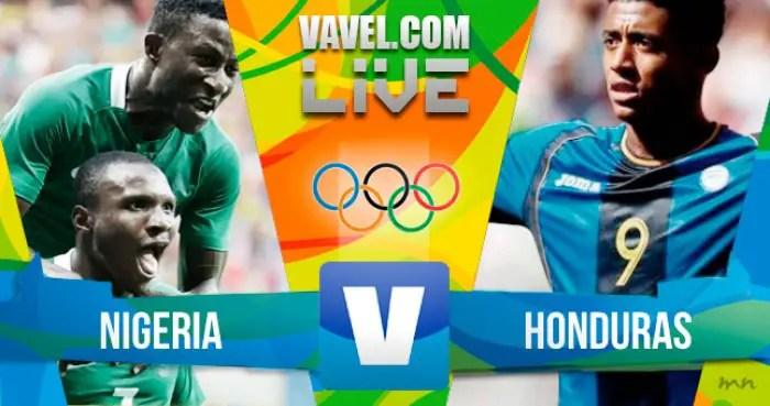 Live:Honduras vs Nigeria(Rio 2016 Olympic Games)
