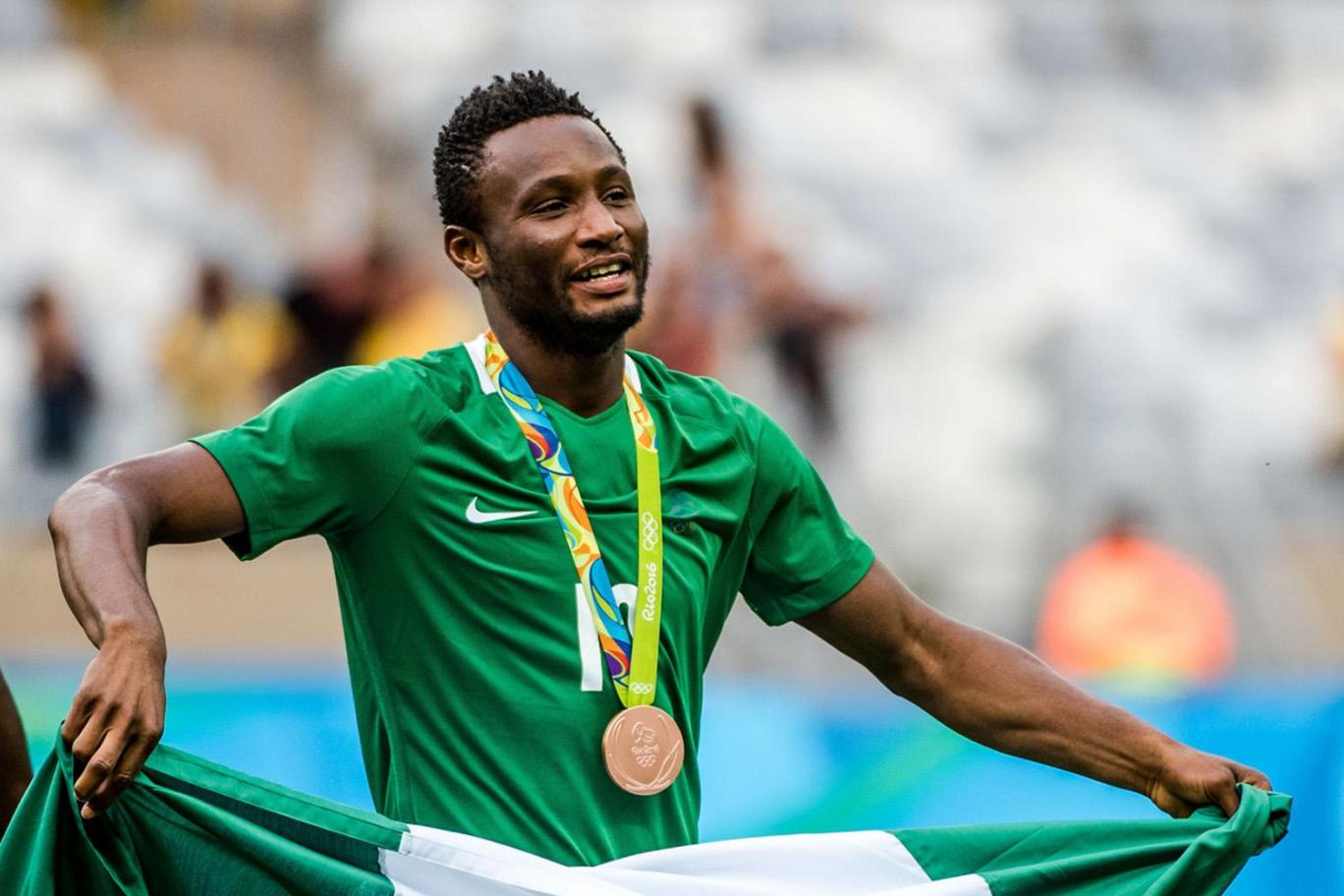 """Mikel Teases """"Jealous"""" Chelsea Mates Over Rio Bronze, Wants Tokyo 2020 Action"""