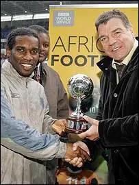 Allardyce: Jay Jay Okocha My Best Captain Ever