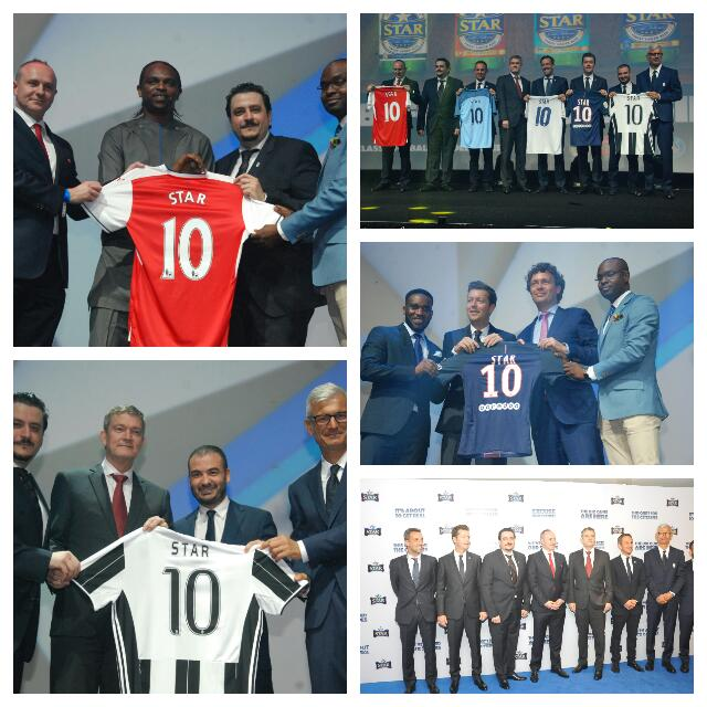 Star Lager Unveils Partnership With Real Madrid, Arsenal, Juve, Man City, PSG