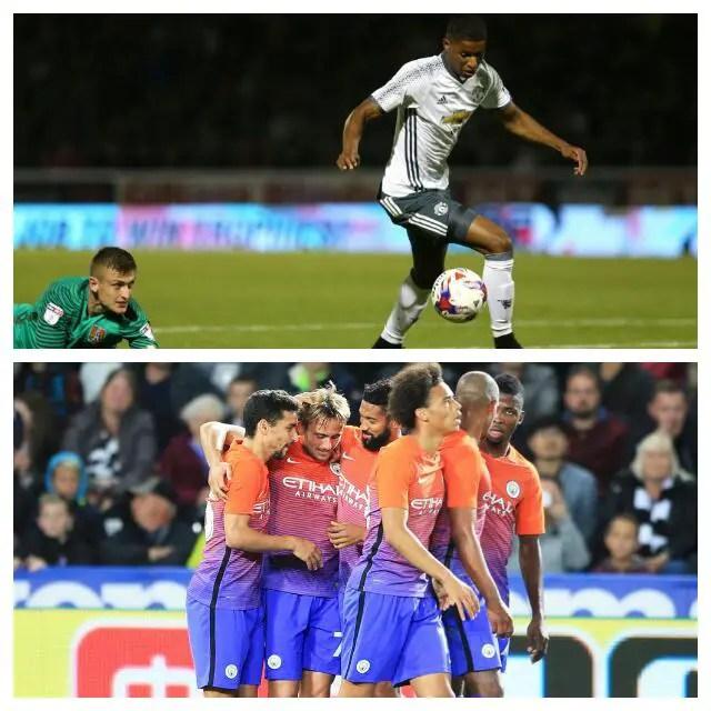 EFL Cup: Rashford Scores, Iheanacho Starts As United, City Cruise